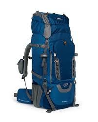 Рюкзаки с внешней и внутренней рамой